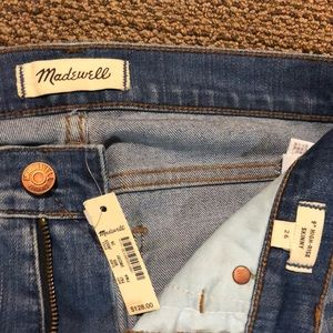 "NWT! Madewell 9"" High Rise Skinny Jeans"